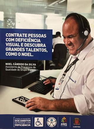 Encontro de Pessoas com Deficiência Visual de Curitiba