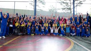 Atlantic comemora mês das crianças com ação de voluntariado no Centro Educacional João Paulo II