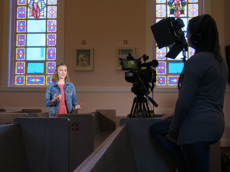 Behind the Scenes: My Blink Series with CatholicTV & Illustrating A Book!