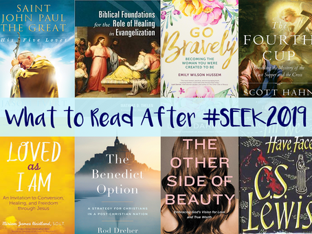 Looking for Reading Inspiration? Post-#SEEK2019 Reading List