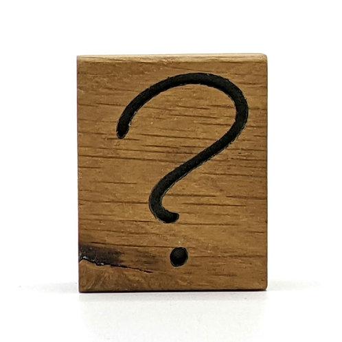 Magnet Mini: Fragezeichen