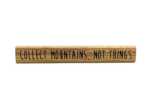 Magnet Maxi: collect mountains not things