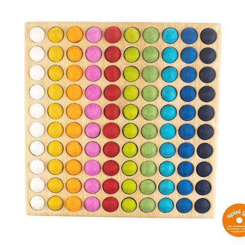 Farbenspiel (10 x 10) Eiche