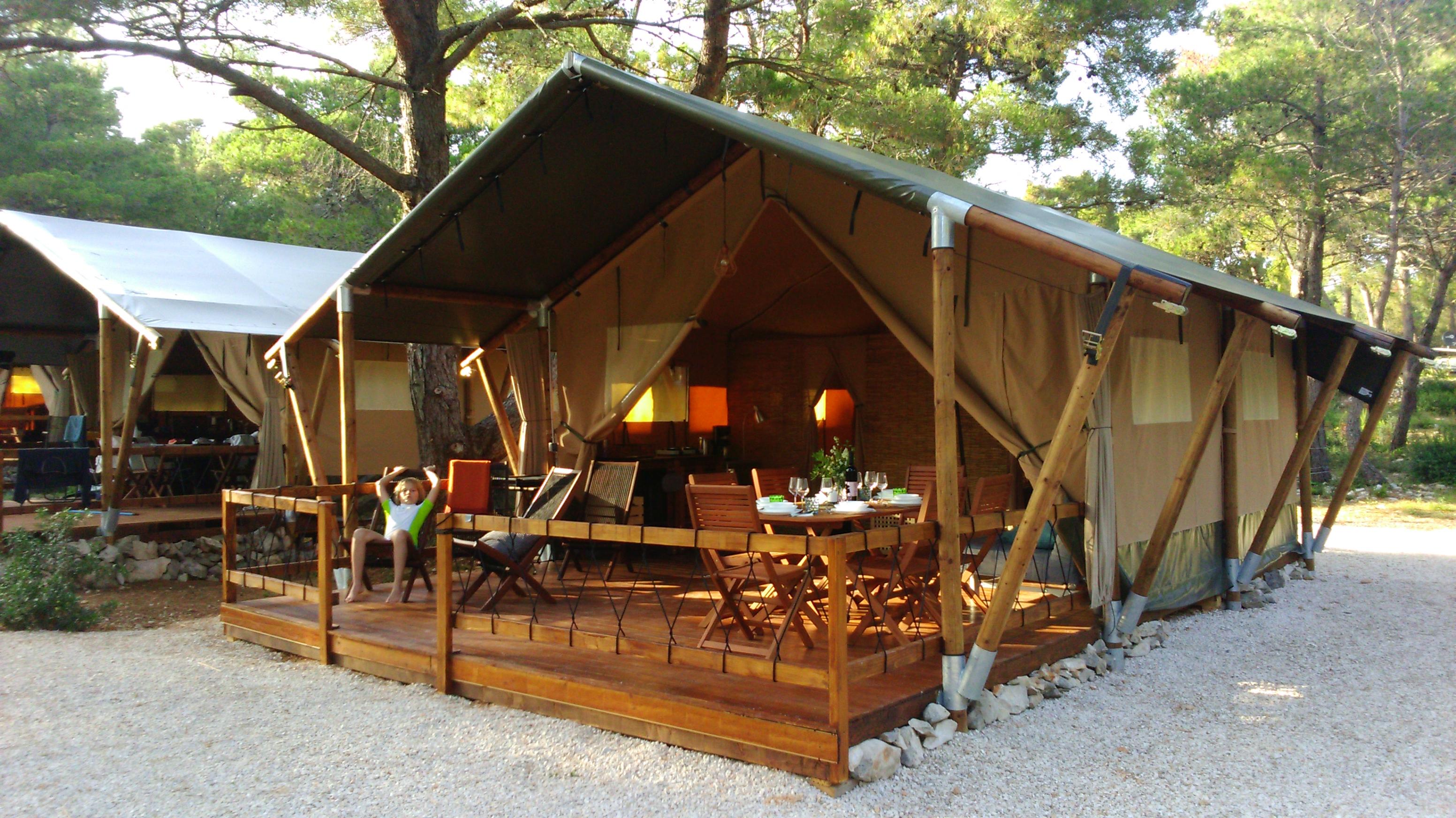 Safari Tent 1 | Lošinj Glamping Tents