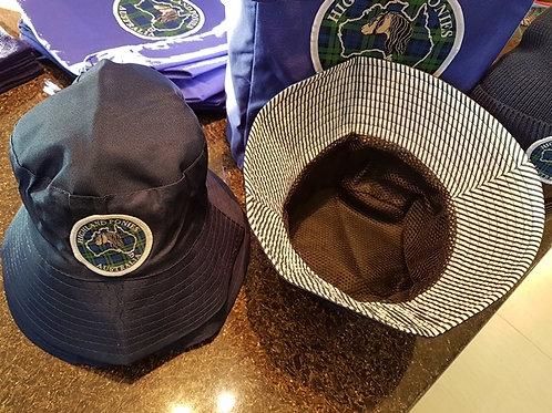 Navy HPA logo bucket hat