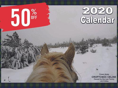 2020 Highland Ponies Australia Calendar