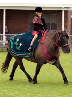 Children ridden fancy dress