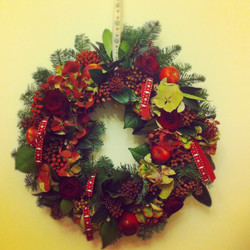 Noel icin Kapı Süsü