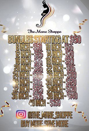 MANE SHOPPE BUNDLE DEAL