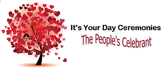 Its Your Day The Peoples Celebrant Logo