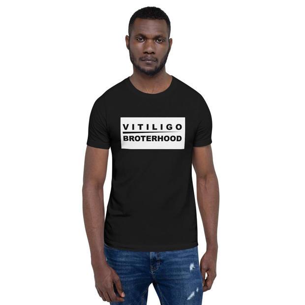 Male - Vitiligo Brotherhood T-shirt