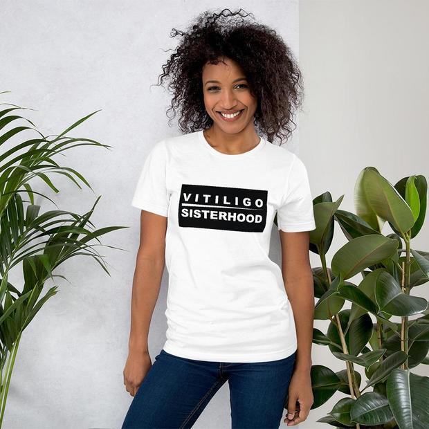 Female - Vitiligo Sisterhood T-shirt
