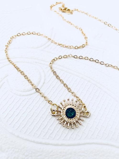 Gemstone Necklace | Emerald