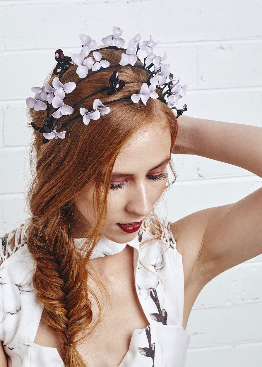 Unique handmade headpiece