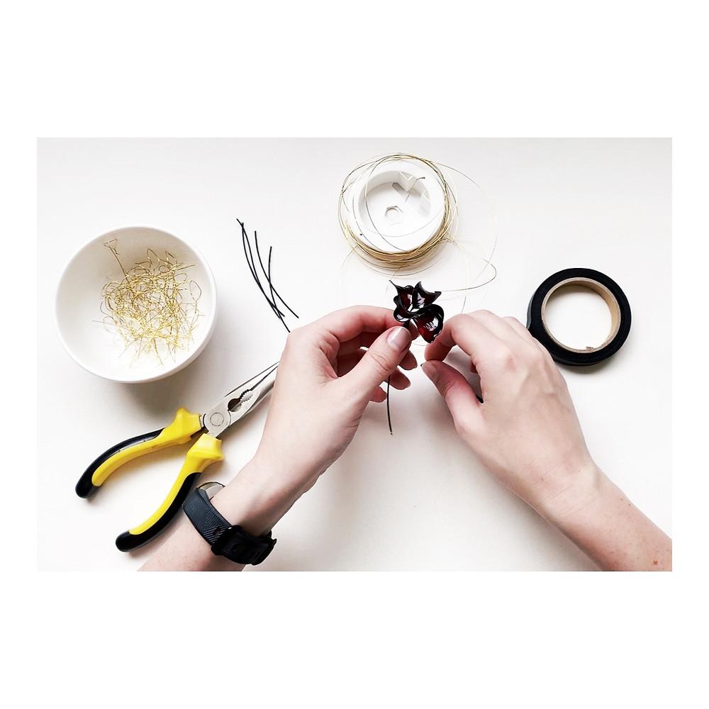 Handmade millinery