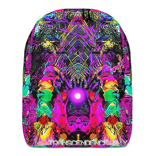 Transcendence Is Your Nature (original) - Minimalist Backpack