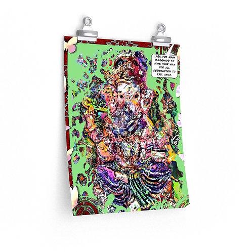 Ganesh - Premium Matte vertical archival quality print