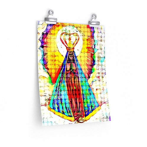 Virgin Mary Archival Matte Print- HQ Art Print- Nossa Senhora Aparecida
