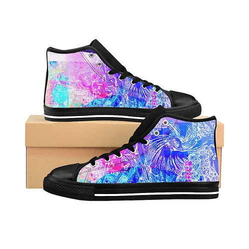 """Shaman"" Men's High-top Sneakers"