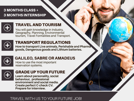 TRAVEL WITH US TO YOUR FUTURE JOB!