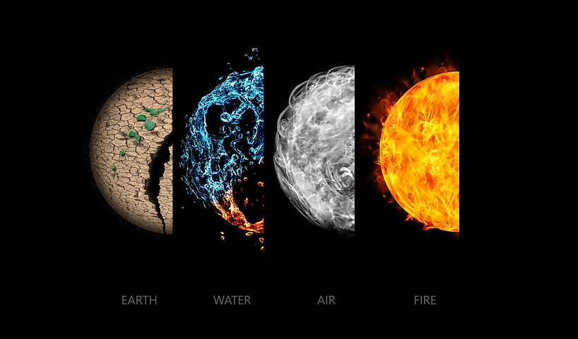 Four elements isolated on black..jpg