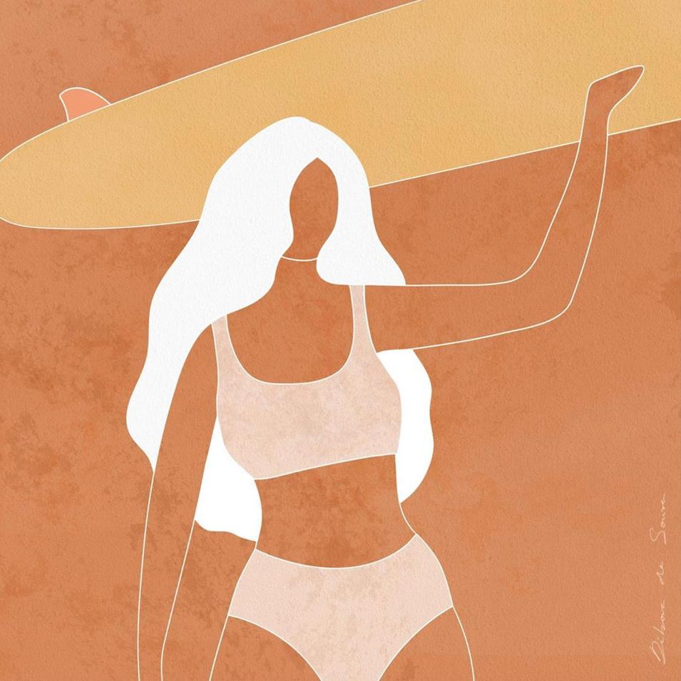 """""""Happy in the Sun"""", Débora de Sousa"""