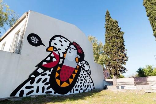 Frida Khalo Mural