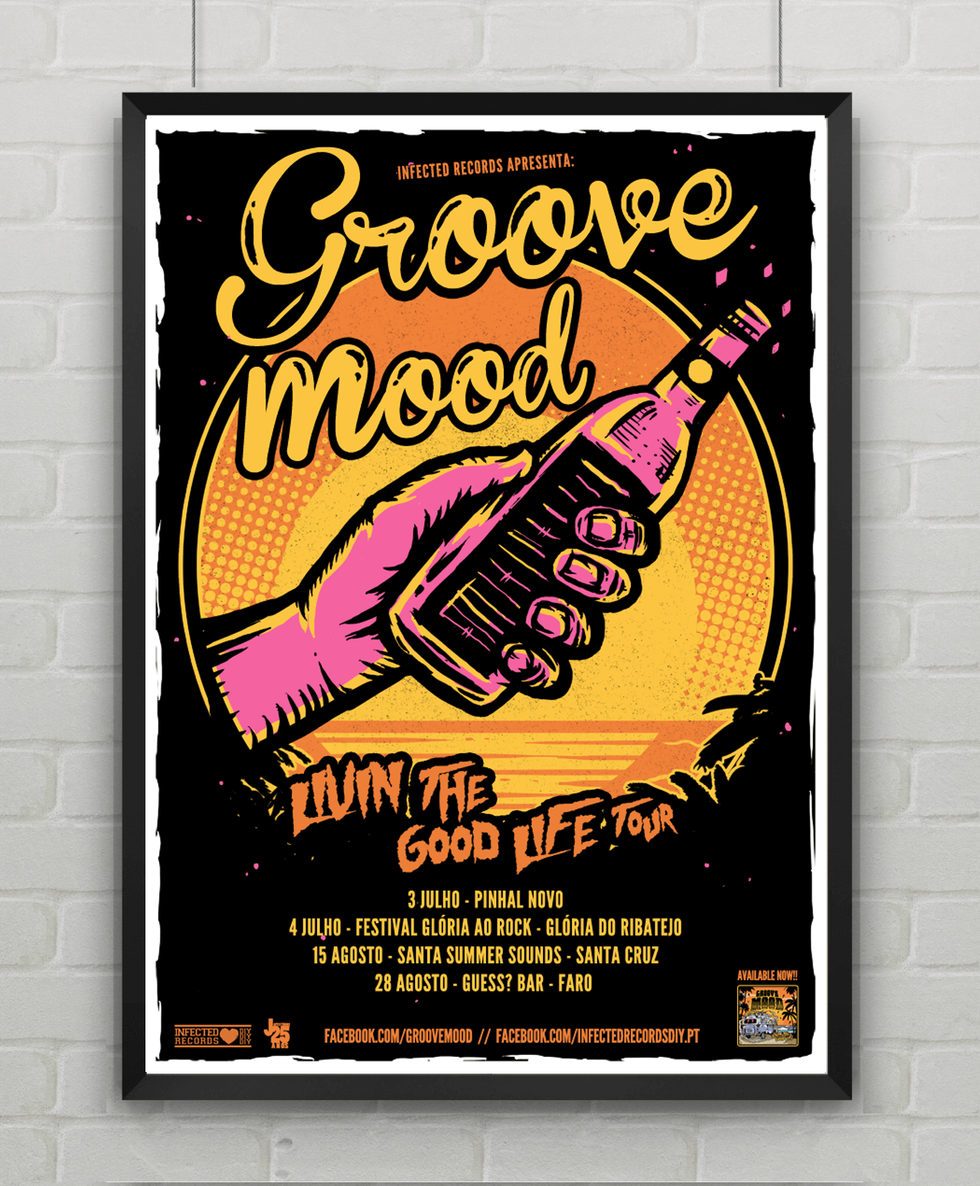 Groove Mood Poster tour