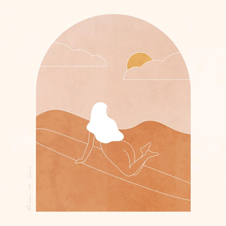 """""""Follow the Sun"""", Débora de Sousa"""
