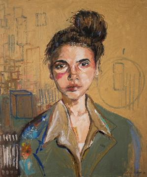"""Girl with Tied Hair"", Rodrigo Veloso"