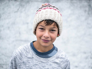 Isac C. 14 anos