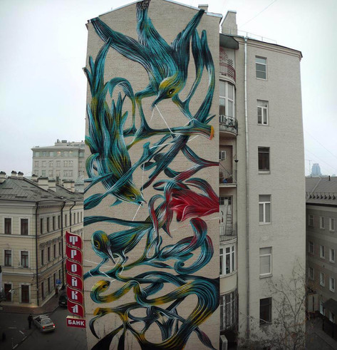 Troubles on paradise, Moscovo