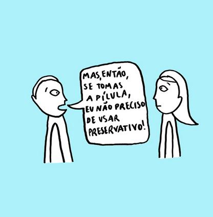 Ilustração e Escrita por Clara Não