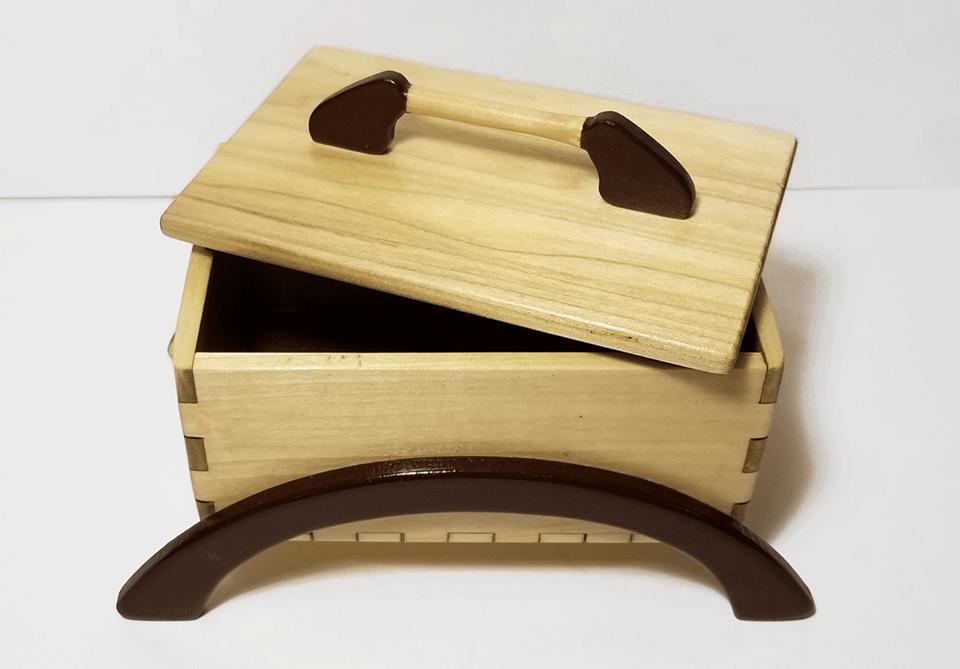 Asian Style Keepsake Box