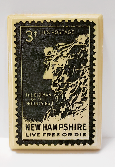Old Man of the Mountains Stamp Plaque