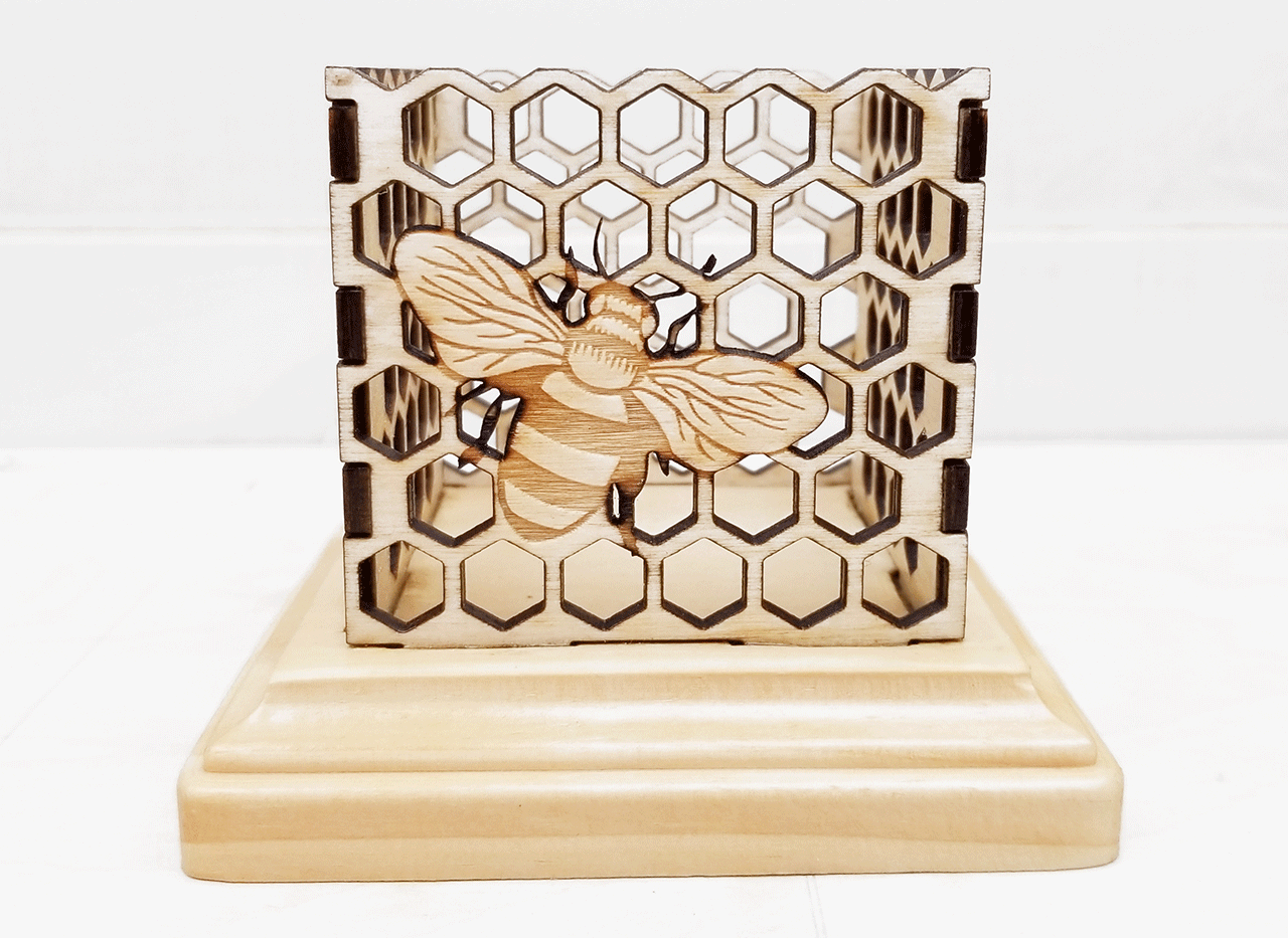 Busy Bee Candle Holder