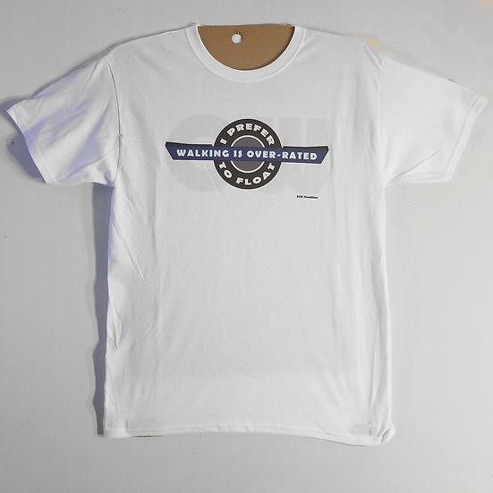 "Unisex T-shirt ""I prefer to float"""