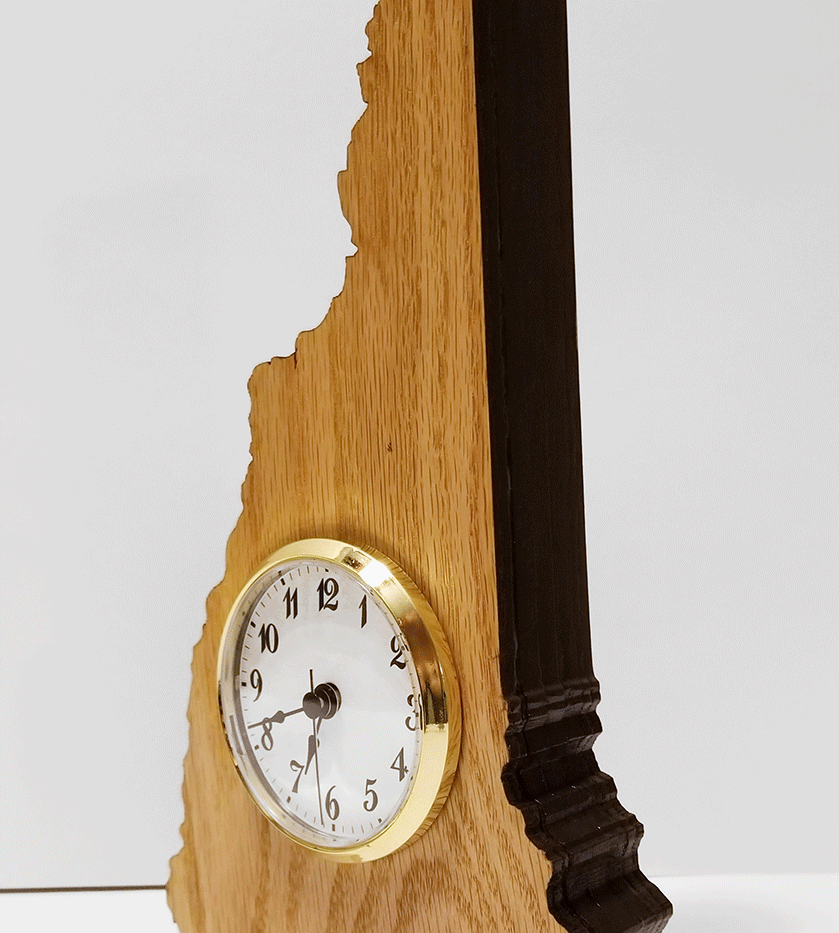 NH Profile Clock