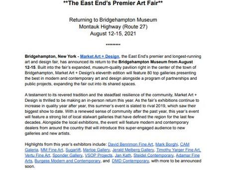 Market Art + Design Hamptons