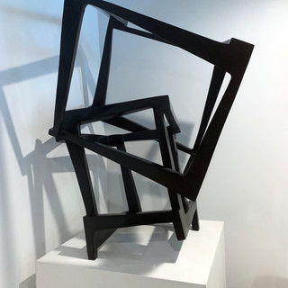 Jedd Novatt (b. 1958) Chaos San Sebastián 2008(AP I/II) Bronze sculpture with black patina 39.70 x 27.50 x 25.50 in Contact for Price