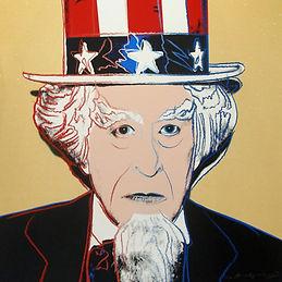 Andy Warhol (1928 - 1987)Uncle Sam from Myths (FS II. 259), 1981, (6_200) Screenprint on L
