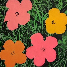 Andy Warhol (1928 - 1987) Flowers, 1964 Ed. of 250 Offset lithograph on woven paper 23 x 23 in Contact for Price
