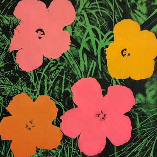 Andy Warhol  (1928 - 1987) Flowers 1964 Ed. of 250) Offset lithograph  23 x 23 in Contact For Price
