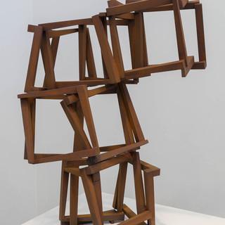 Jedd Novatt (b. 1958) Baltic Construction I 2020 Cor-ten Steel 33 x 24 x 33 in SOLD