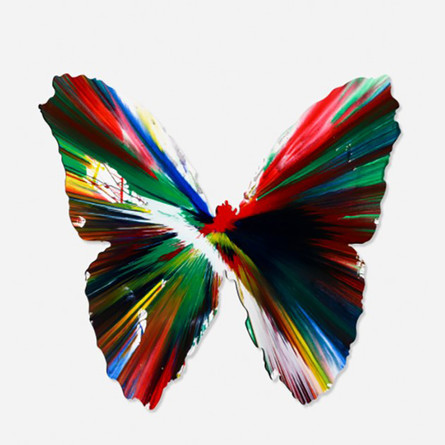 Damien Hirst Butterfly spin art resized.