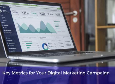Key Metrics for Your Digital Marketing Campaign
