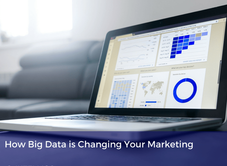 How Big Data is Changing Your Marketing