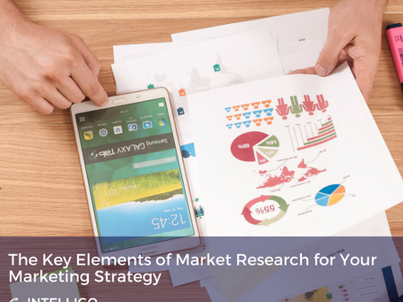 The Key Elements of Market Research for Your Marketing Strategy
