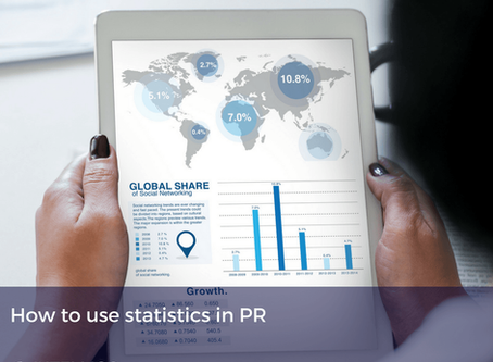 How to use statistics in PR