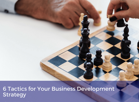 6 Tactics for Your Business Development Strategy